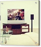 Amazing Home Theaters Systems Acrylic Print