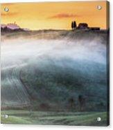 Amazing Landscape Of Tuscany Acrylic Print