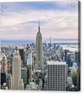 Amazing Manhattan Acrylic Print