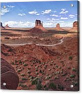 Amazing Monument Valley Acrylic Print