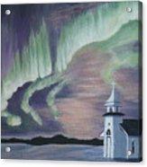 Amazing Northern Lights Acrylic Print
