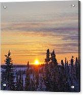 Amazing Winter Sunrise Acrylic Print