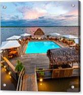 Amazon Swimming Pool Acrylic Print