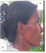 Amazon Woman Acrylic Print