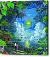 Amazonica Romantica Acrylic Print