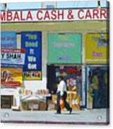 Ambala Cash And Carry Acrylic Print