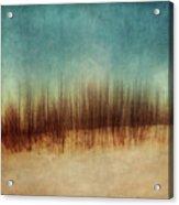 Amber And Blues Acrylic Print