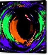 Amber Eye Acrylic Print