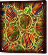 Amber Waves Marles Acrylic Print