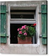 Amberg Window Acrylic Print