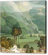 Ambleside Acrylic Print by Francis Towne