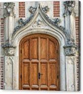 Amboise Door Acrylic Print