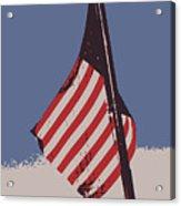 Amercan Flag Acrylic Print