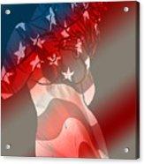 America Acrylic Print by Tbone Oliver