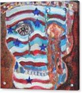 America Under Fire Acrylic Print