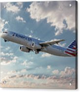 American Airlines A321-231 N917uy Acrylic Print
