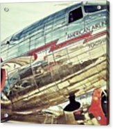 American Airlines Acrylic Print