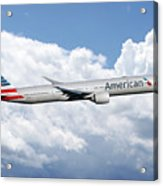 American Airlines Boeing 777 Acrylic Print