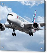 American Airlines Boeing 787 Dreamliner Acrylic Print