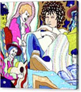 Jelly Roll Bob - Portraits Of Dylan Acrylic Print