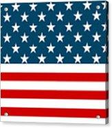 American Beach Towel Acrylic Print