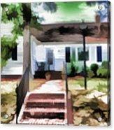 American Beautiful House Acrylic Print
