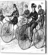 American Bicyclists, 1879 Acrylic Print