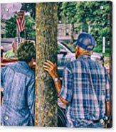 American Blue Acrylic Print