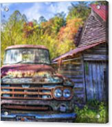 American Dodge Acrylic Print