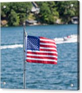 American Dream Acrylic Print
