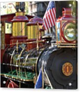 American Dream Train Acrylic Print