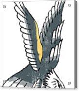 American Eagle Tattoo Acrylic Print