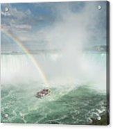 Horseshoe Waterfall At Niagara Falls Acrylic Print