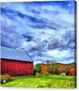 American Farmer Acrylic Print