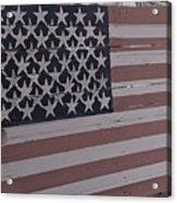 American Flag Shop Acrylic Print
