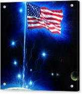 American Flag. The Star Spangled Banner Acrylic Print