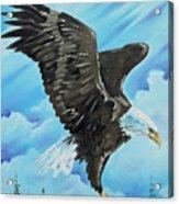 American Flight Acrylic Print
