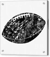 American Football-black Acrylic Print