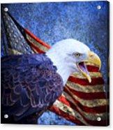 American Freedom  Acrylic Print by Nicole Markmann Nelson