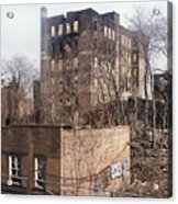 American Ghetto - The South Bronx In New York City Acrylic Print