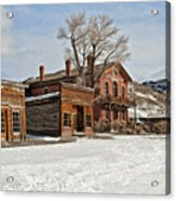 American Ghost Town Acrylic Print