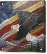 American Glory Acrylic Print