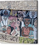 American Graffiti Acrylic Print