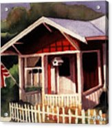 American Home Acrylic Print