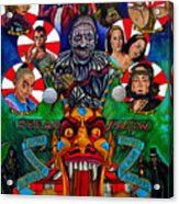 American Horror Story Freak Show Acrylic Print