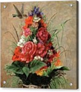 American Impressionist Painter Acrylic Print