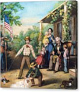 American Independence 1859 Acrylic Print