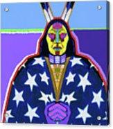 American Indian By Nixo Acrylic Print