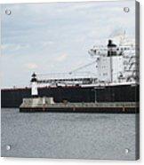 American Integrity Ship Acrylic Print