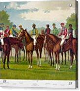American Jockeys, 1889 Acrylic Print